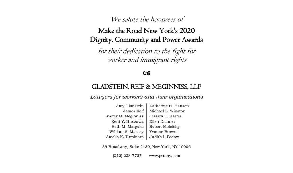 Gladstein Reif Meginniss LLP